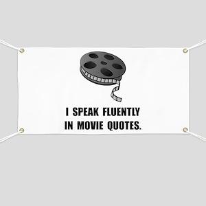 Speak Movie Quotes Banner