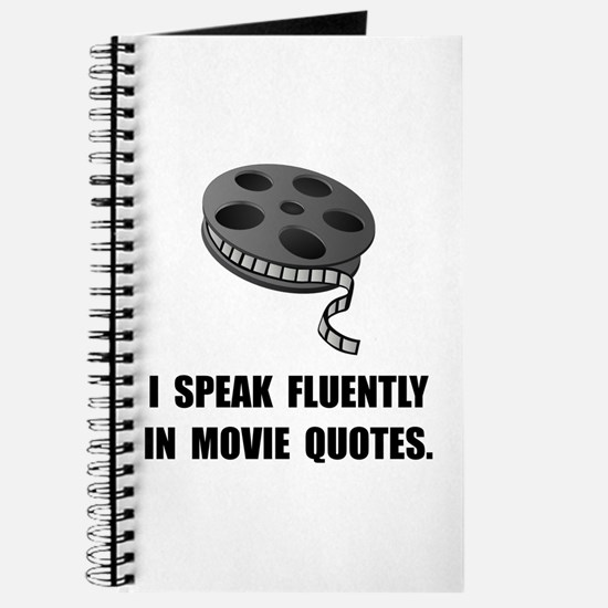 Speak Movie Quotes Journal