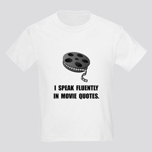 Speak Movie Quotes Kids Light T-Shirt