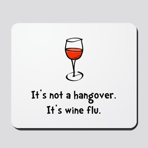 Wine Flu Mousepad