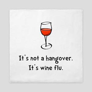 Wine Flu Queen Duvet