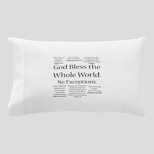 God Bless Pillow Case