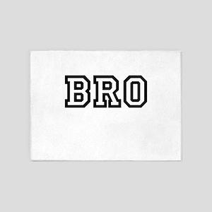 Bro 5'x7'Area Rug