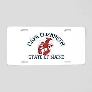 Cape Elizabeth ME - Lobster Design. Aluminum Licen
