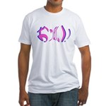 Oppai shirt Fitted T-Shirt