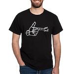 Imagination Hand Gun Pew Pew Dark T-Shirt