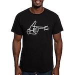 Imagination Hand Gun Pew Pew Men's Fitted T-Shirt