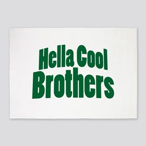 Hella Cool Brothers 5'x7'Area Rug