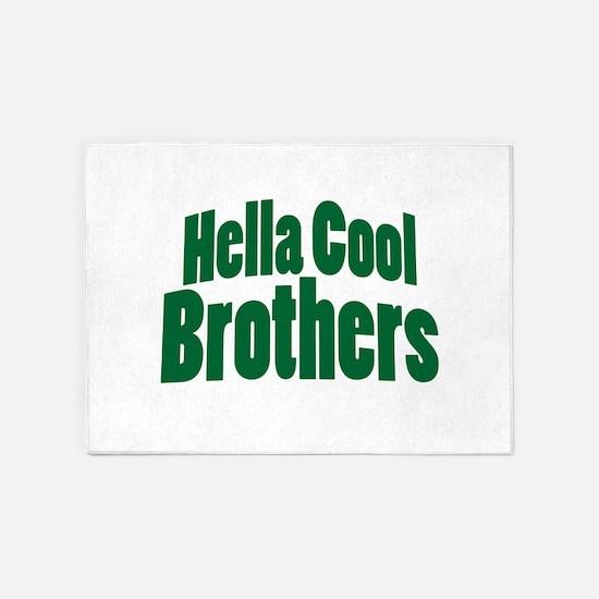 Hella Cool Brothers 5'x7'Area Rug