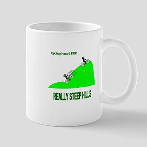 Cycling Hazards - Really Steep Hills Mug