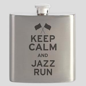 Keep Calm and Jazz Run Flask