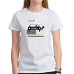 Cycling Hazards - Oldsters in big cars Women's T-S