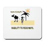Cycling Hazards - Bad GPS Mousepad