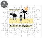 Cycling Hazards - Bad GPS Puzzle