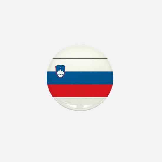 Slovenia - National Flag - Current Mini Button
