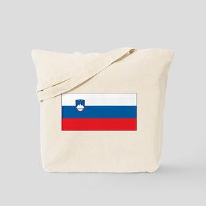 Slovenia - National Flag - Current Tote Bag