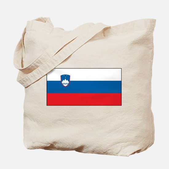 Slovenia - National Flag - Current Tote Bag