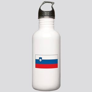 Slovenia - National Flag - Current Water Bottle