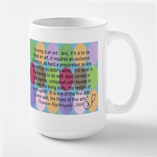 Florence Nightingale Quote Bag.PNG Large Mug