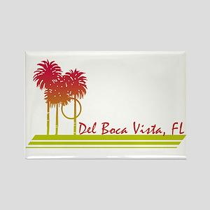 Del Boca Vista Rectangle Magnet