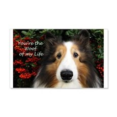 Woof of My Life Wall Decal