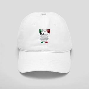 Italians rule T-Shirt Cap