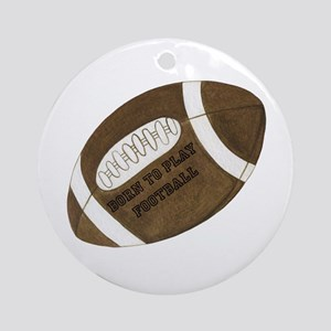 Football Ornament (Round)