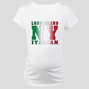 italian Long island T-Shirt Maternity T-Shirt
