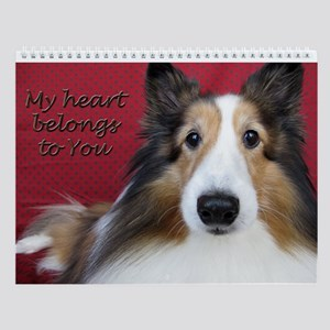 My heart belongs to you Wall Calendar