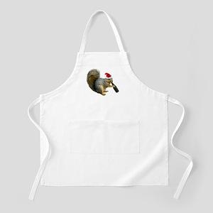 Santa Squirrel Beer Apron