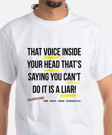 That Voice - Light White T-Shirt