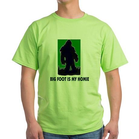Big Foot Is My Homie T-Shirt T-Shirt