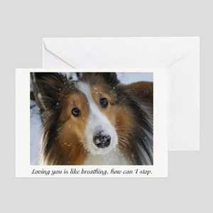 Loving You Greeting Card
