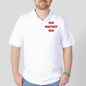 WIN WHITNEY WIN Golf Shirt