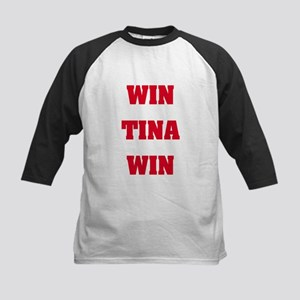 WIN TINA WIN Kids Baseball Jersey