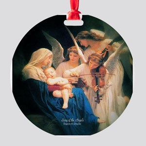 Song of the Angels 1881 Round Ornament
