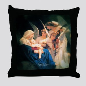 Song of the Angels 1881 Throw Pillow