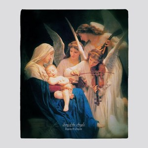 Song of the Angels 1881 Throw Blanket