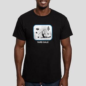 Yard Sale Men's Fitted T-Shirt (dark)