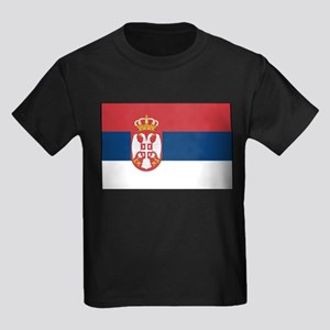 Serbia - National Flag - 2004-2010 Kids Dark T-Shi