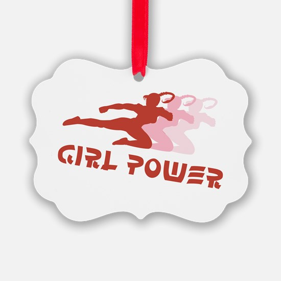 Girl Power Ornament