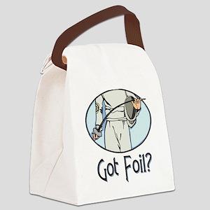 Got Foil? Canvas Lunch Bag