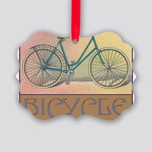 Bicycle Picture Ornament