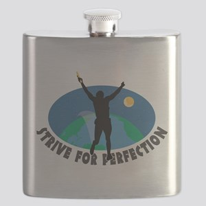 Strive for Perfection Flask