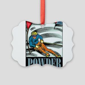 Powder Picture Ornament