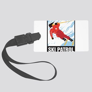 Ski Patrol Large Luggage Tag