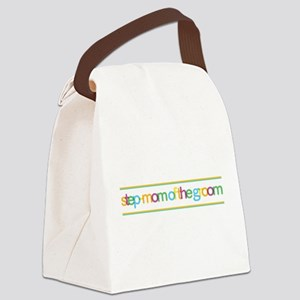 Step-Mom of the Groom Canvas Lunch Bag