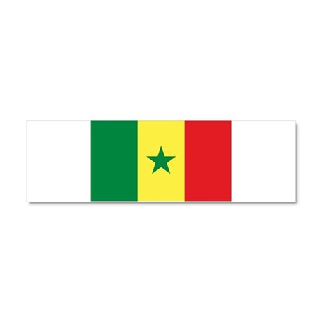 Senegal - National Flag - Current Car Magnet 10 x