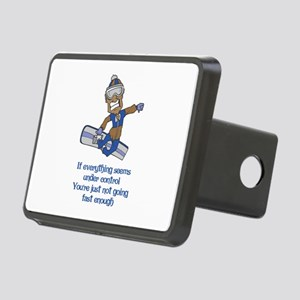 Not Going Fast Enough Rectangular Hitch Cover