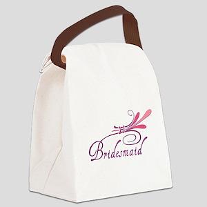 bridesmaid1 Canvas Lunch Bag